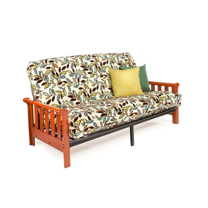Night And Day Furniture Boca Full Size Futon Frame With 7 Inch Mattress