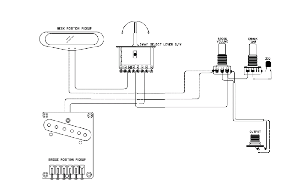 Import (cheap) switch wiring diagram help Telecaster