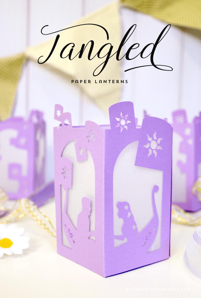 Tangled Paper Lantern Lantern designs, Paper lanterns