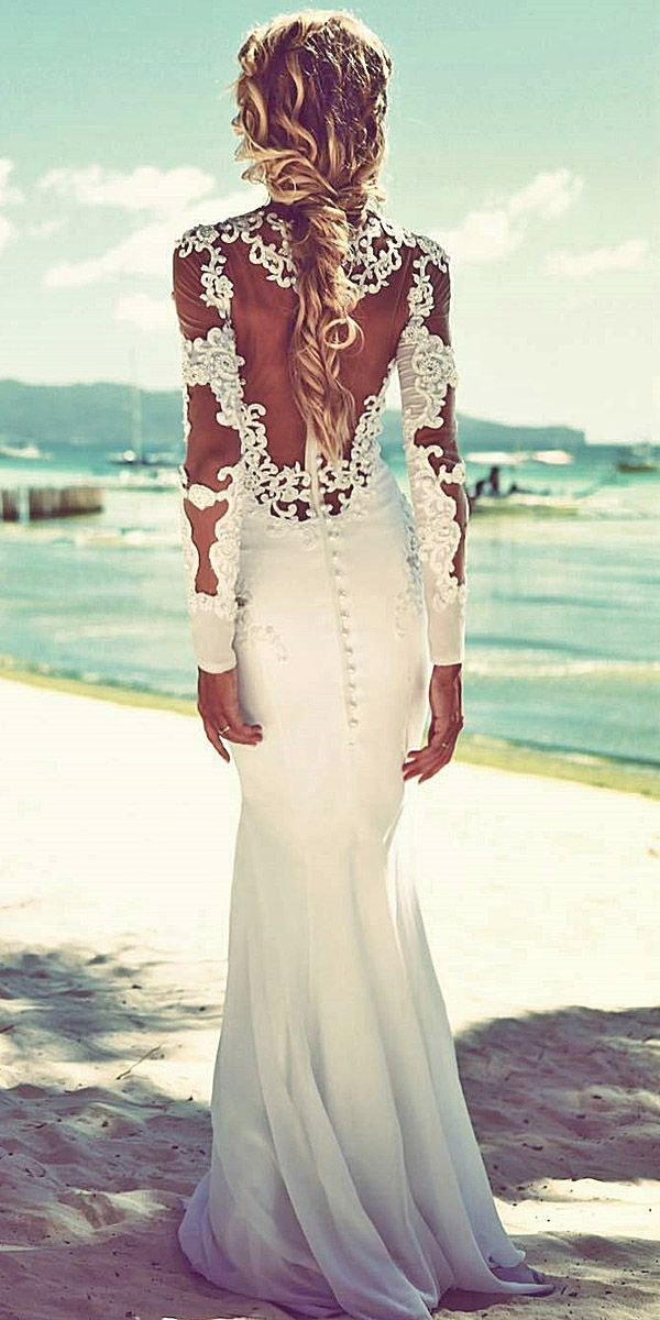 30 Beach Wedding Dresses Perfect For Destination Weddings