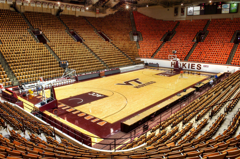 Virginia Tech, Cassell Coliseum. Basketball arenas