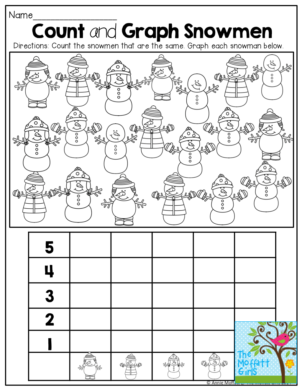December No Prep Packet Kindergarten