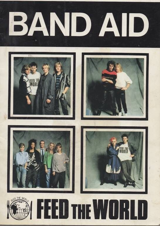Best 25 Band Aid 1984 Ideas On Pinterest Eighties