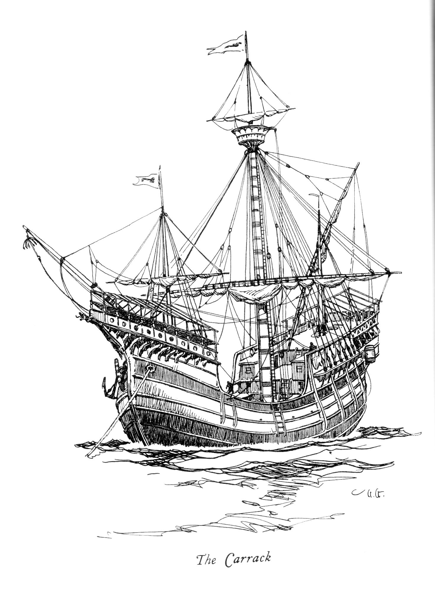 This Is What A Portuguese Carrack Looked Like In