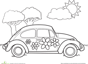 1000 images about coloring pages automobiles on pinterest