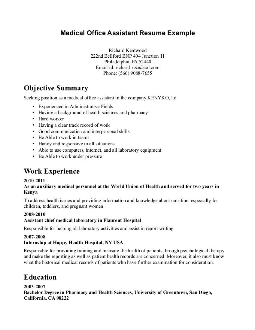 Example of doctor cre ntials resume