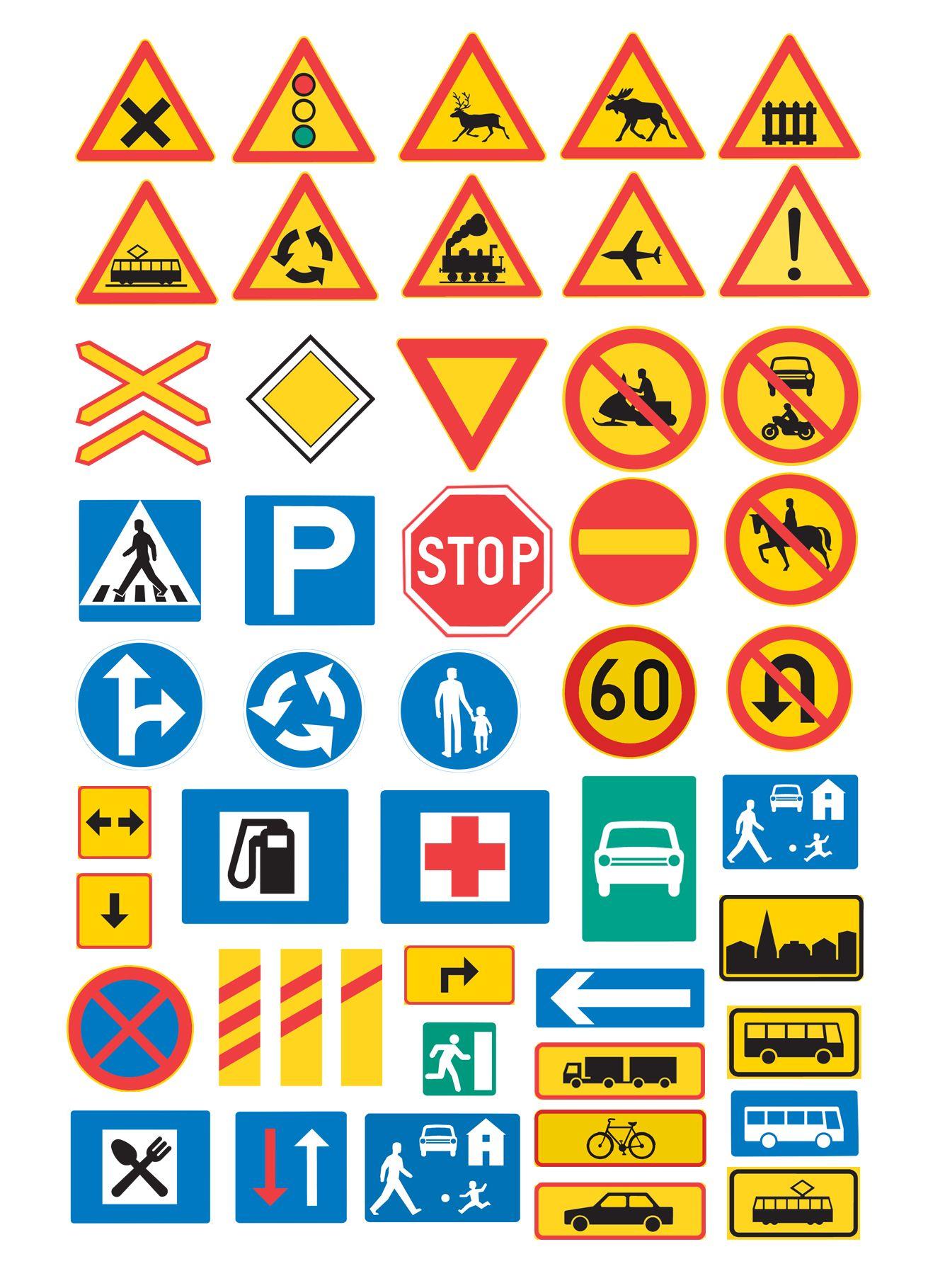 Traffic Signs Liikennemerkit