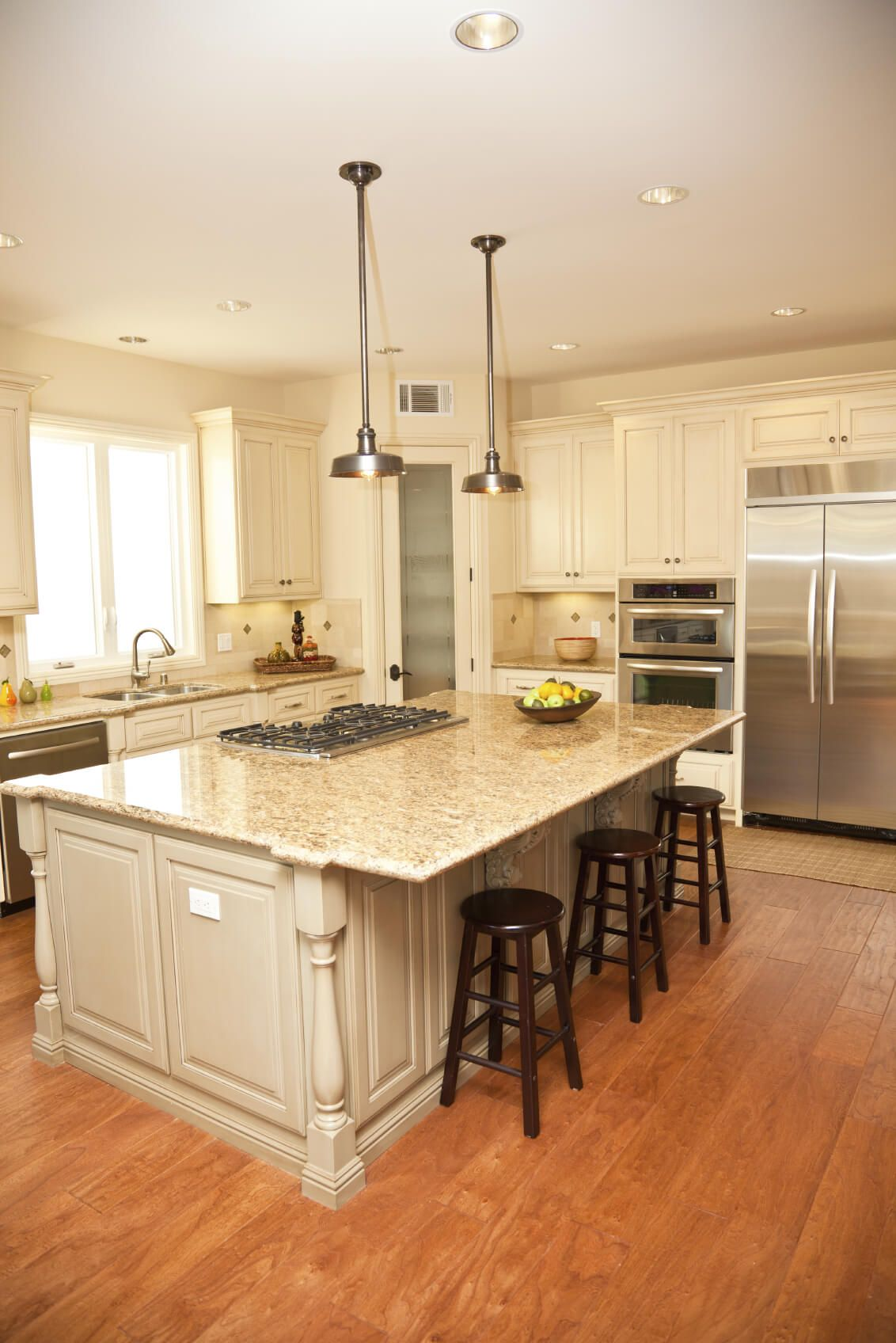 425 White Kitchen Ideas for 2018 Granite countertops