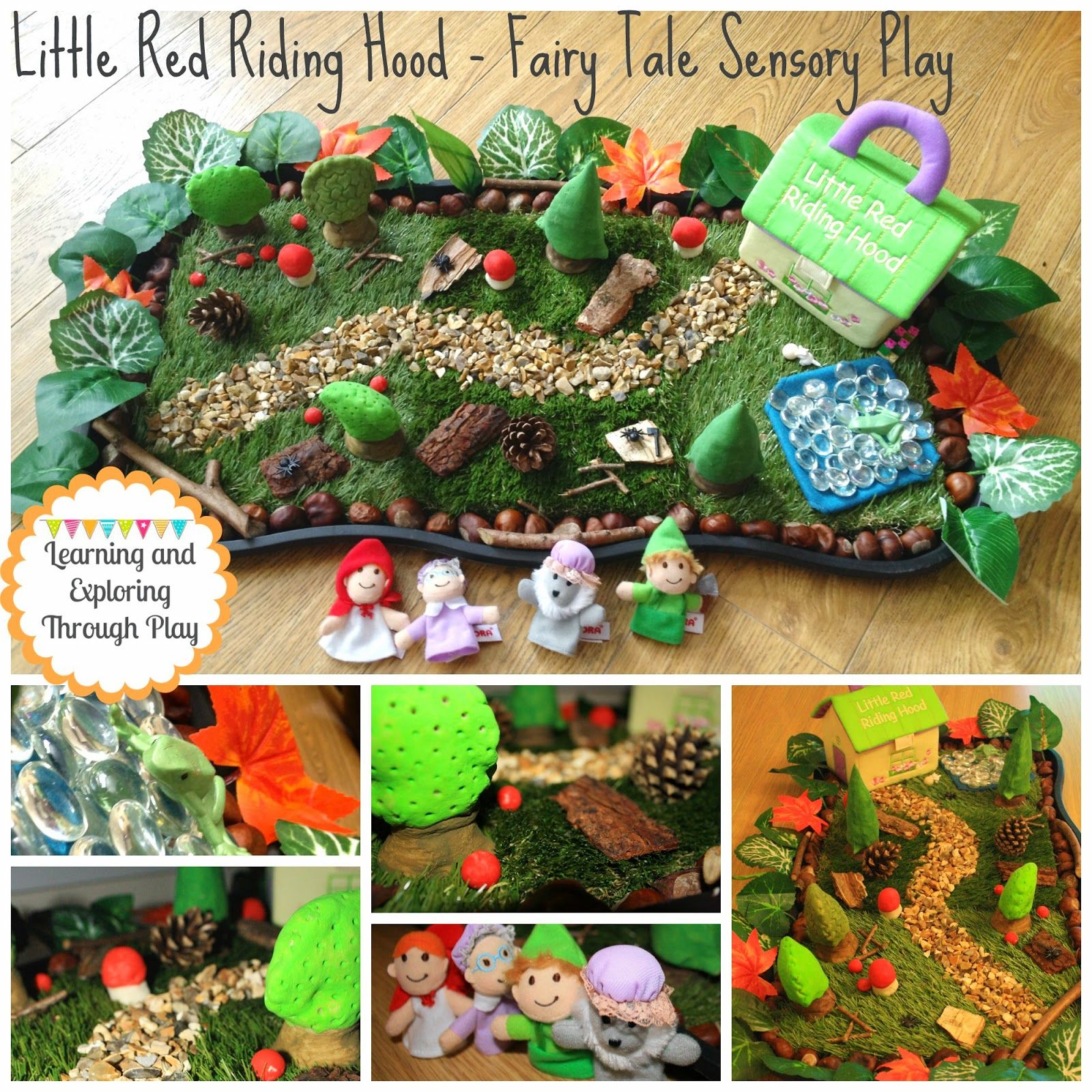 Learning And Exploring Through Play Little Red Riding