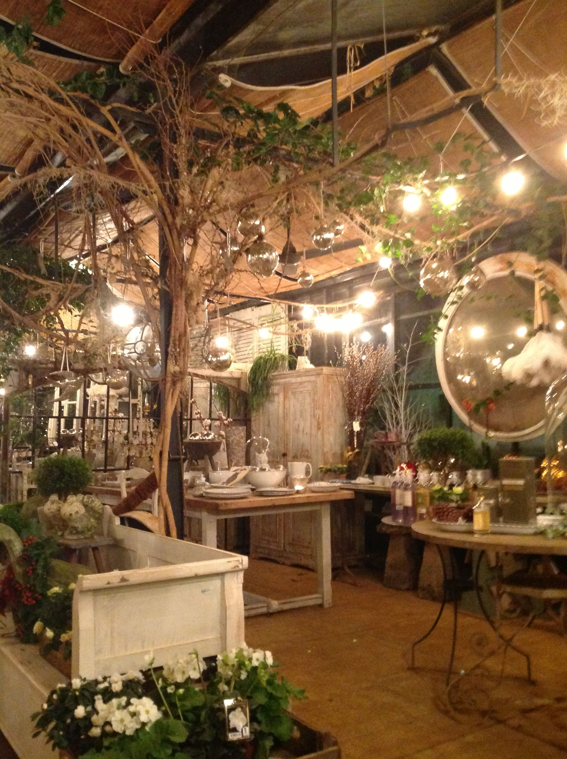 Petersham Nurseries store fronts, retail displays, ideas
