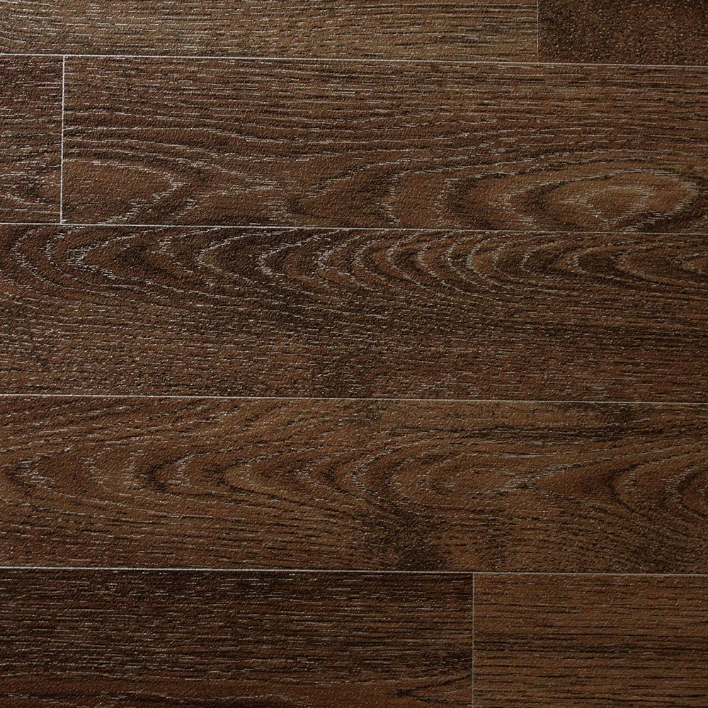 Dark Oak Wood Non Slip Vinyl Flooring Lino Kitchen
