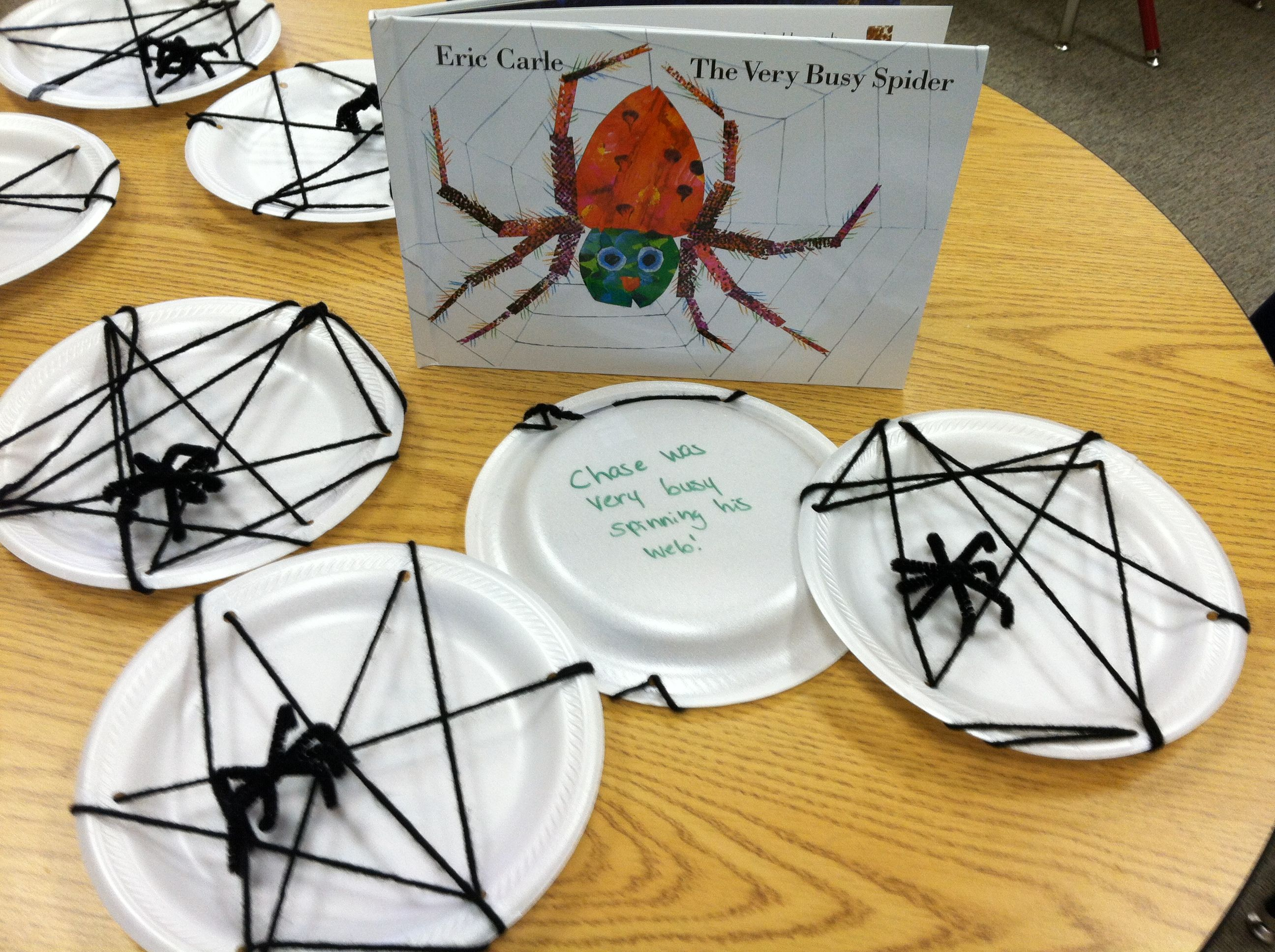 Eric Carle The Very Busy Spider Halloween Activity After