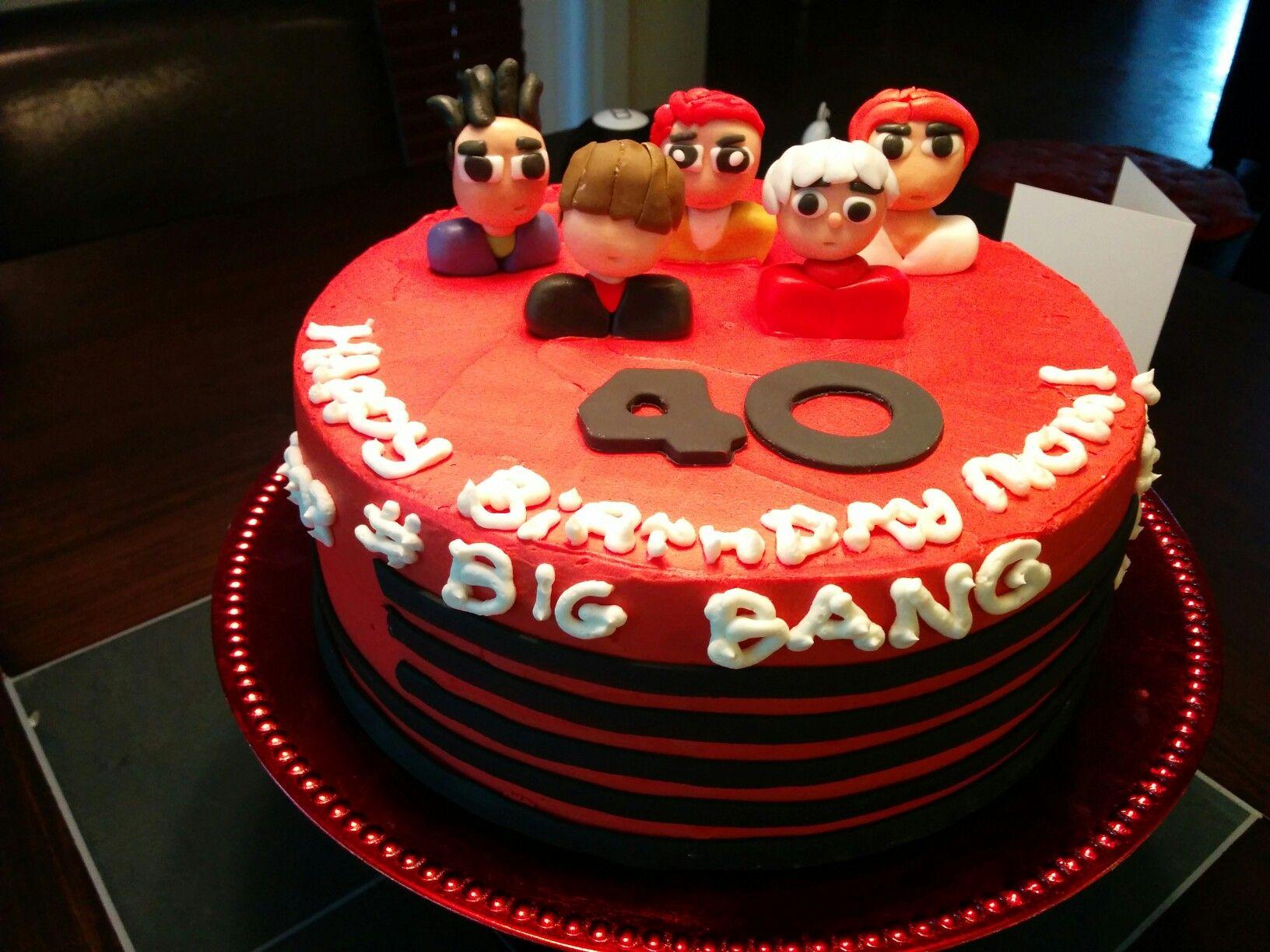 My Bigbang Kpop Birthday Cake