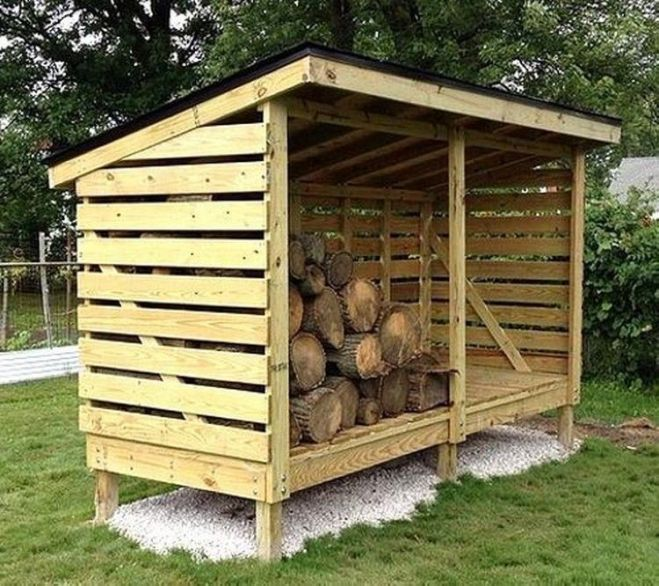 Diy wooden pallet shed projects pallets woodworking and