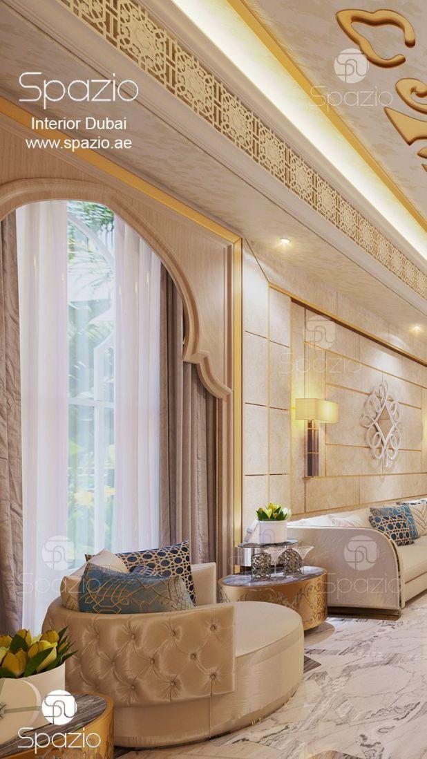A Luxury Arabic Majlis Interior Design In Dubai It S Available