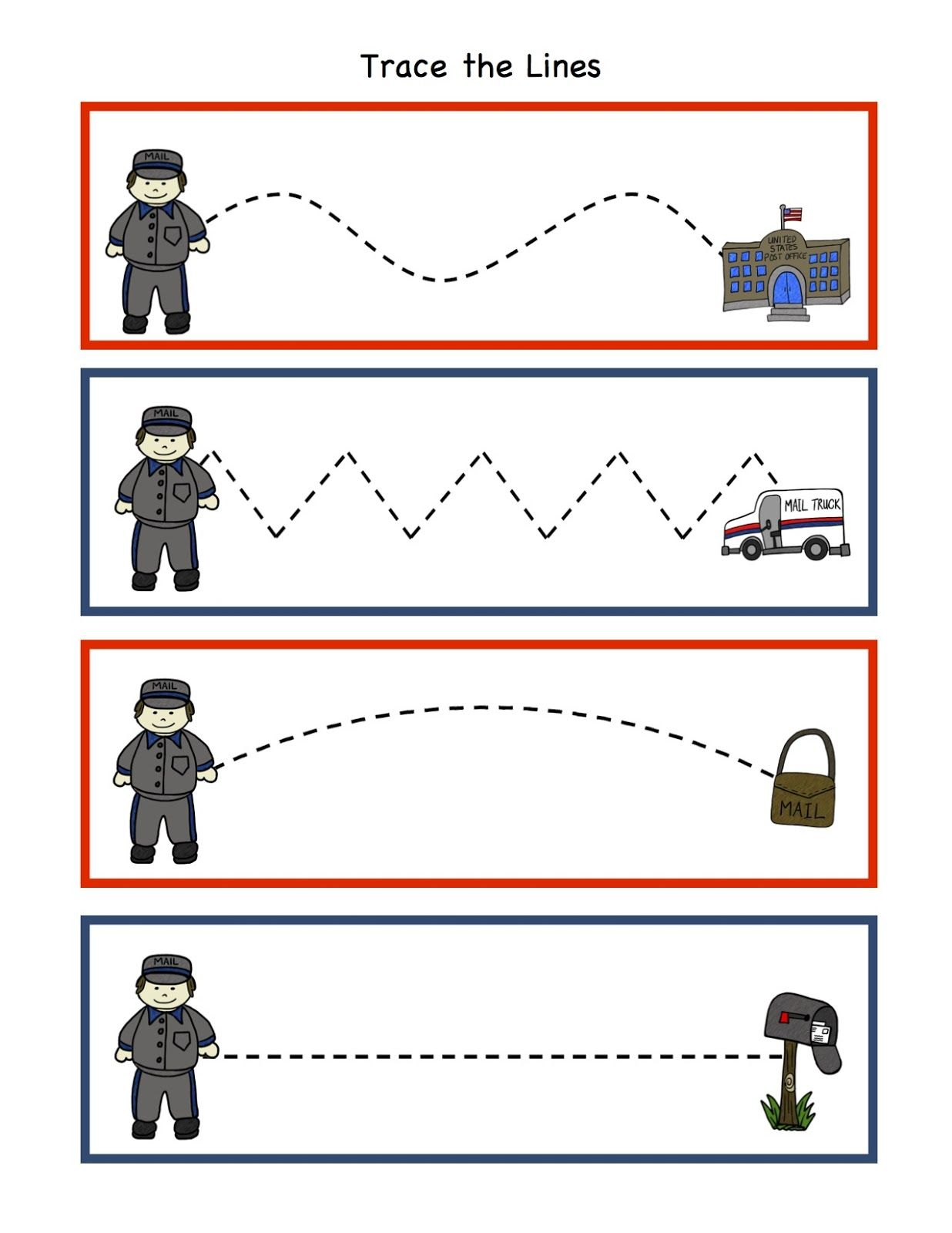 Police Car Shape Worksheet