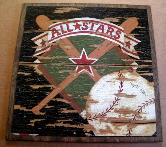Best 25 Vintage Baseball Decor Ideas On Pinterest