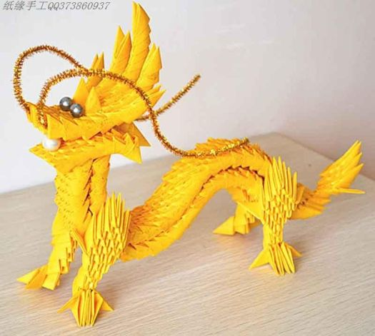 Modular Origami Chinese Dragon Instructions Origami Tutorial Lets
