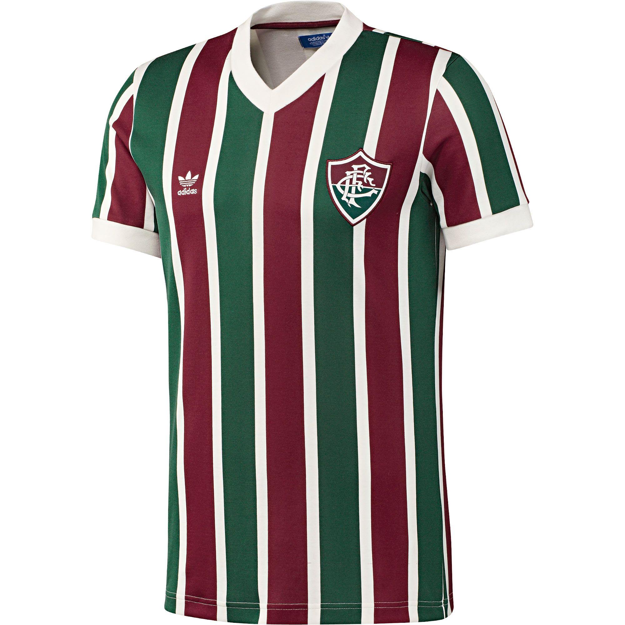 adidas Originals Retro Fluminense FC Football Shirt
