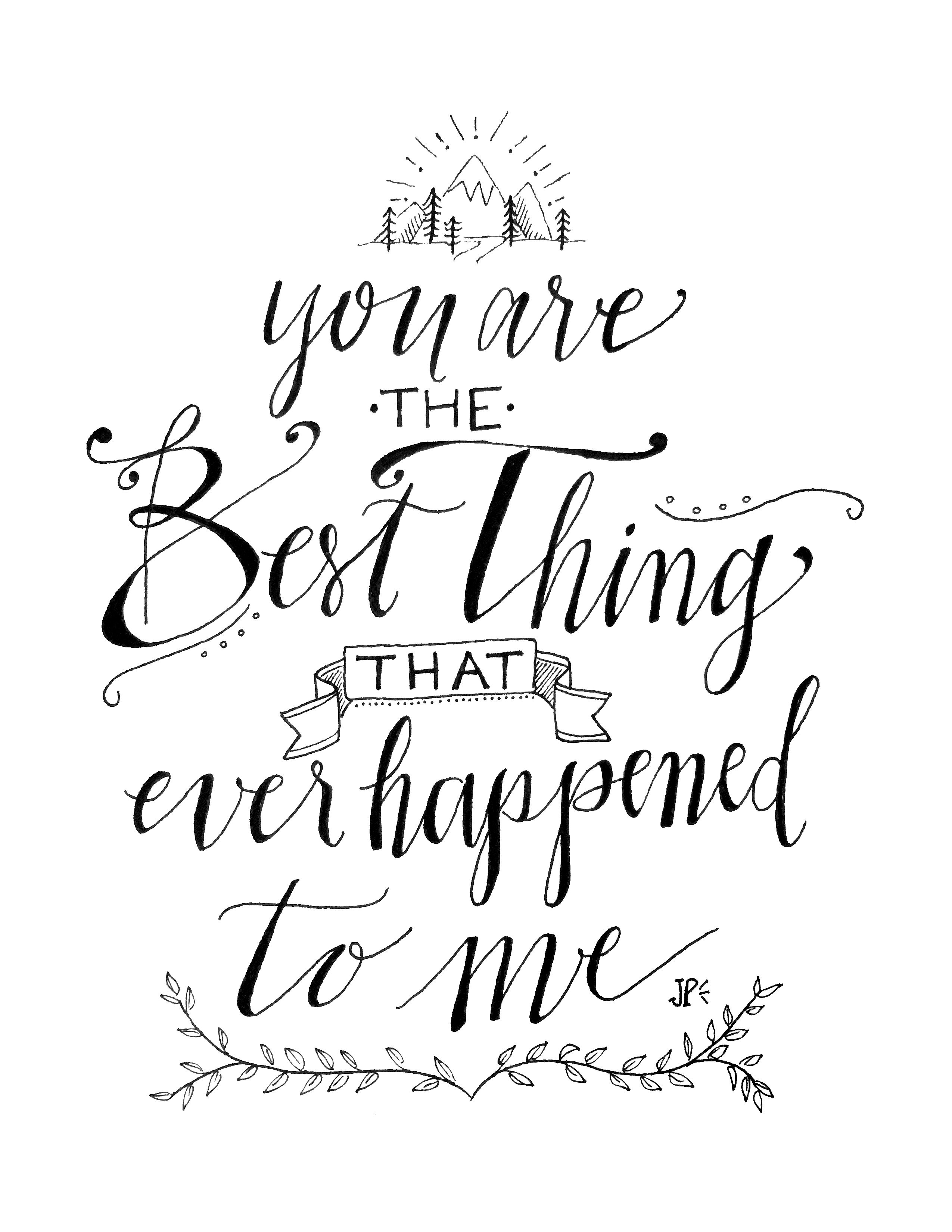 You Are The Best Thing That Ever Happened To Me Lyrics By