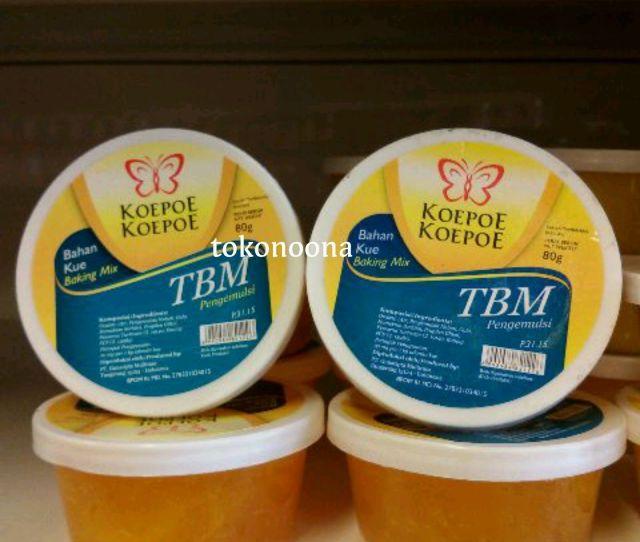 Koepoe Koepoe Bahan Kue Tbm Pengemulsi Baking Mix Makanan Bread Improver Itu