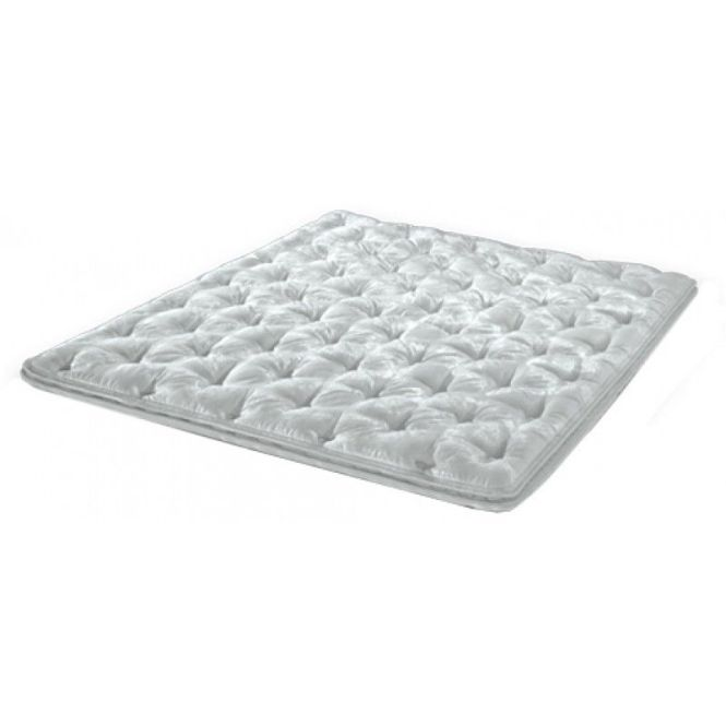 Padded Pillow Top Mattress Cover Geneva Hardside Waterbed Queen