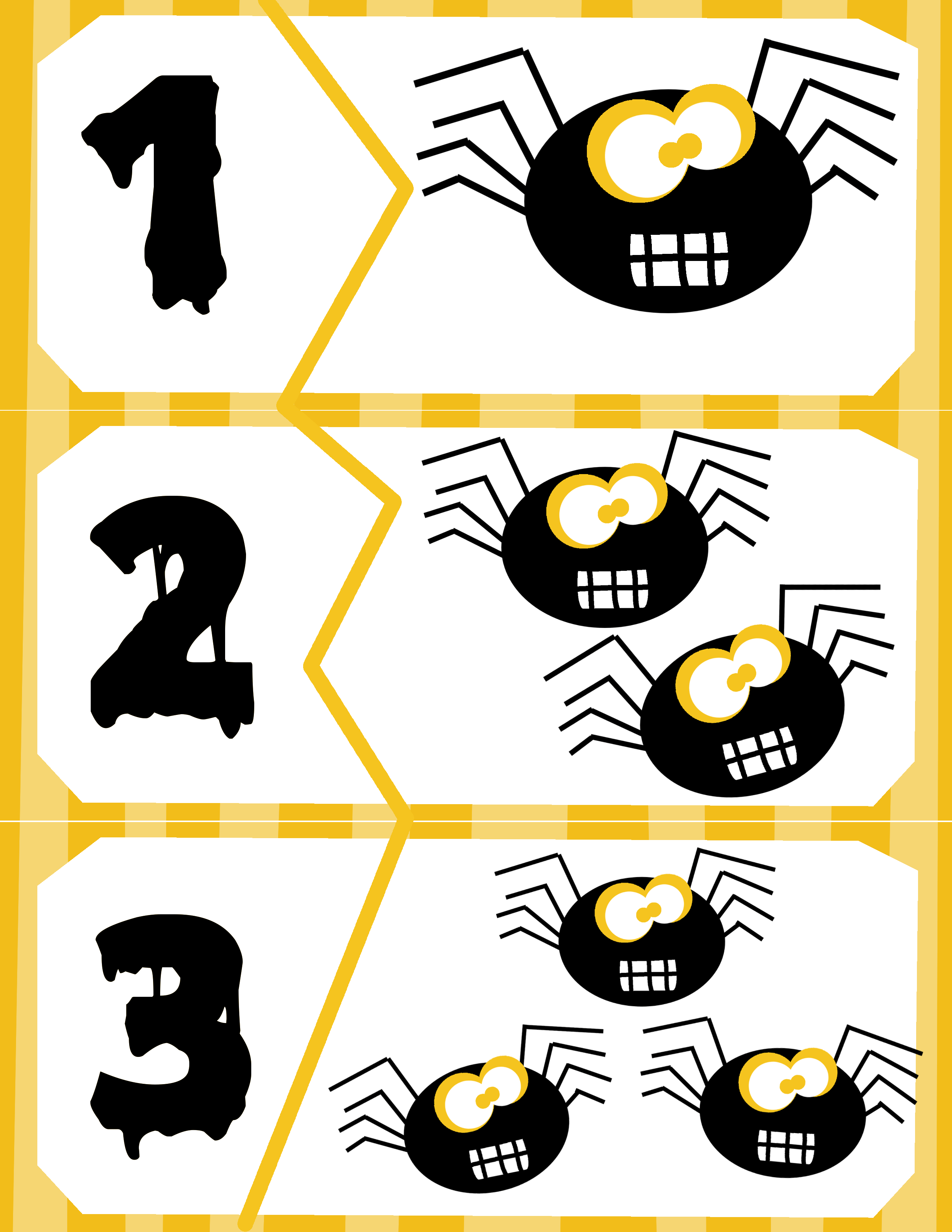 Spider Count Puzzles