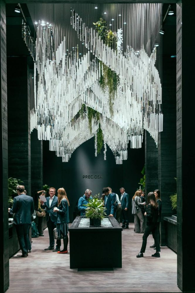 Preciosa Lighting Cultivation Of Chandeliers Since 1724 At Salone Del Mobile 2017