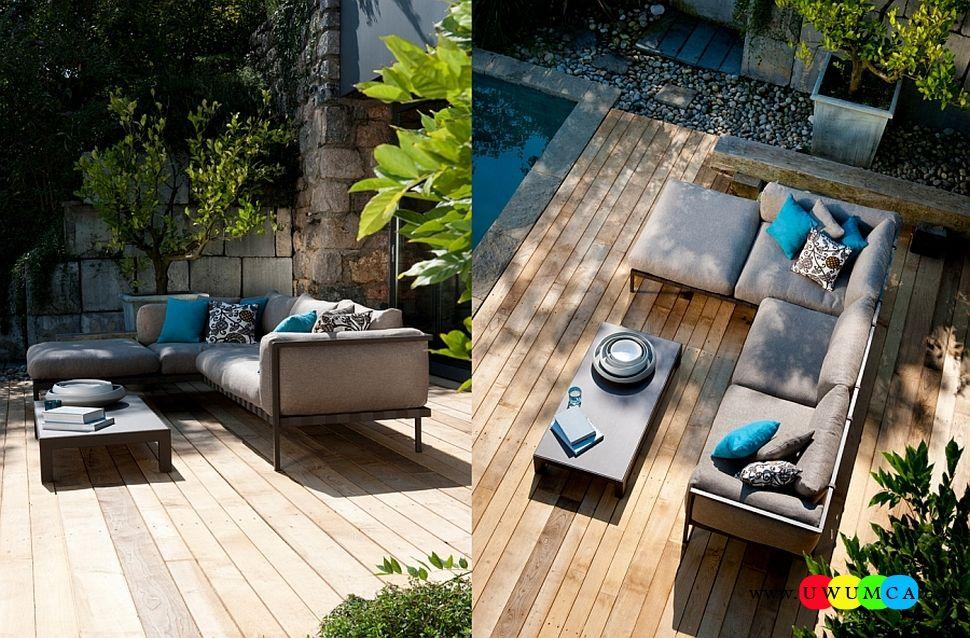 Furniture:Rustic Outdoor Summer Lounge Furniture