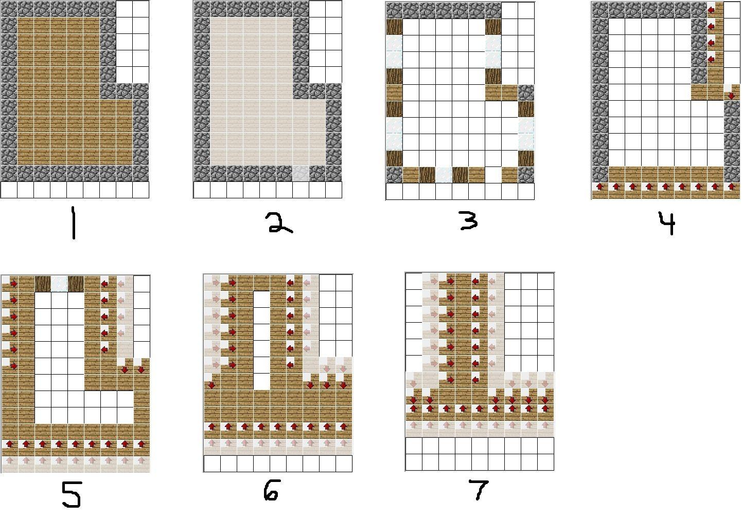 minecraft village blueprints 10 Minecraft Pinterest