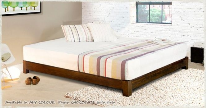 Low Platform Bed E Saver