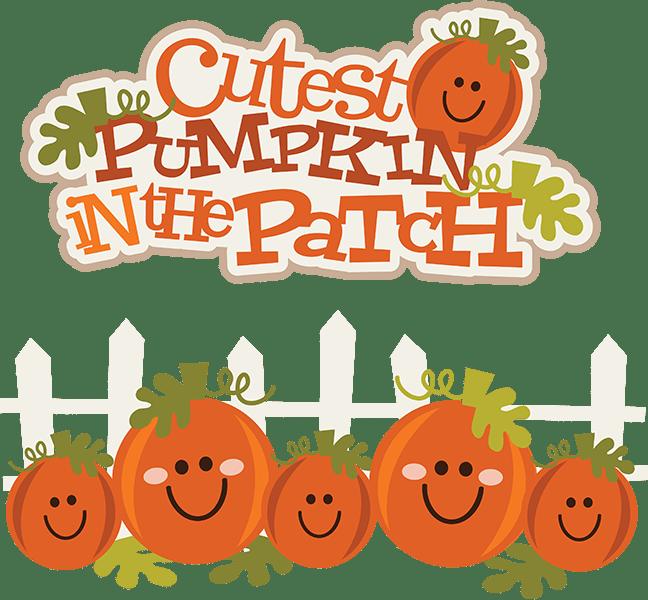 Cutest Pumpkin In The Patch SVG pumpkin clipart cute
