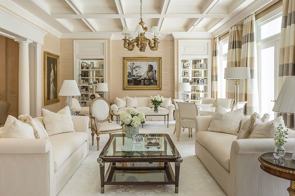 Get The Look: An Elegant And Classy Living Room