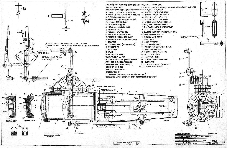 Steam Tractor Engine Diagram