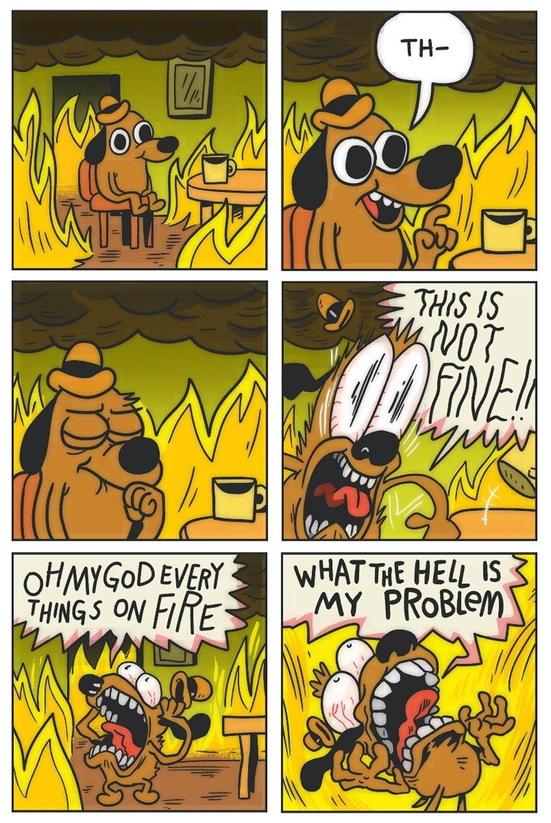 "2016 Is Going So Poorly That We Broke The ""This Is Fine"
