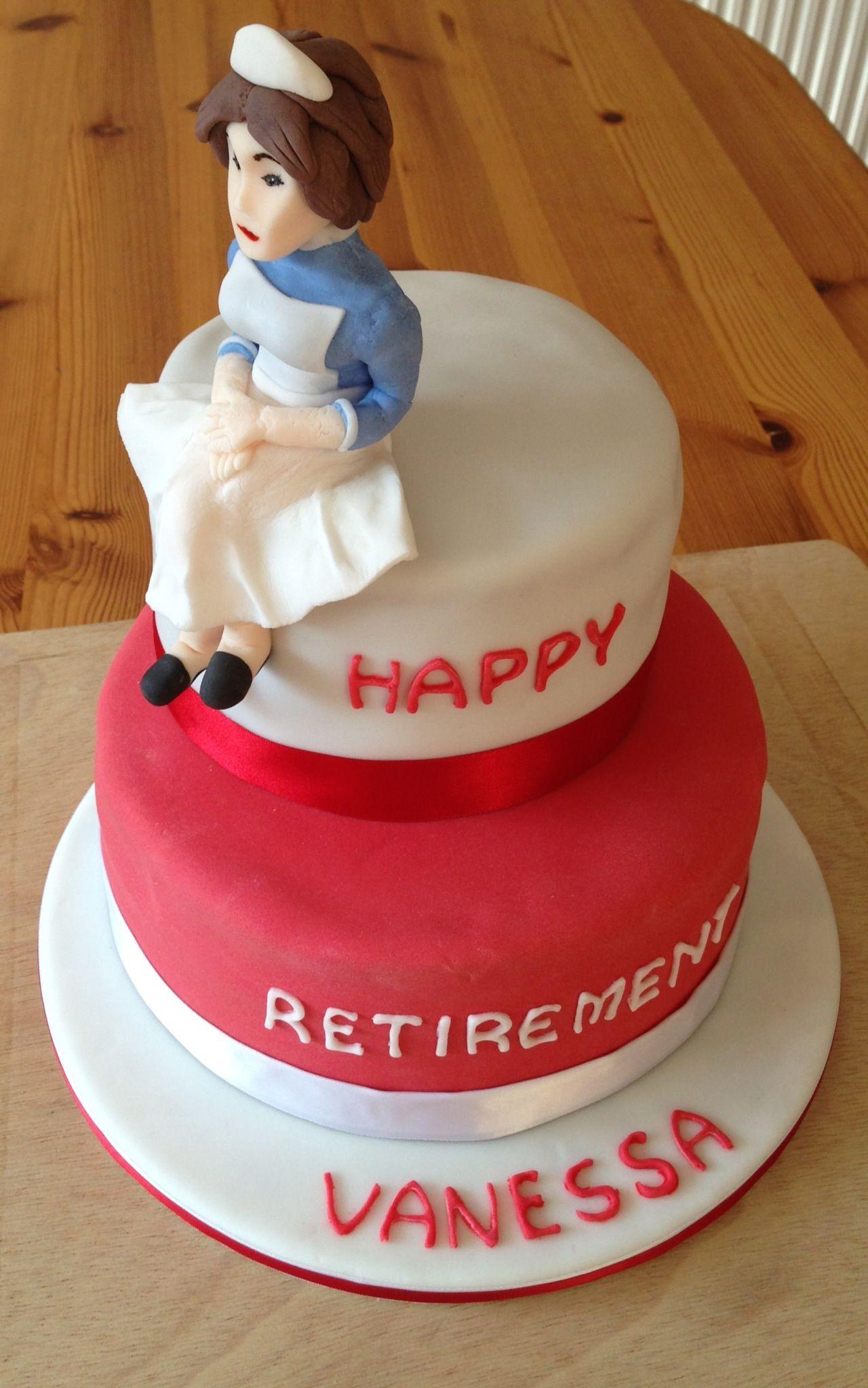 Nurses Retirement Cake