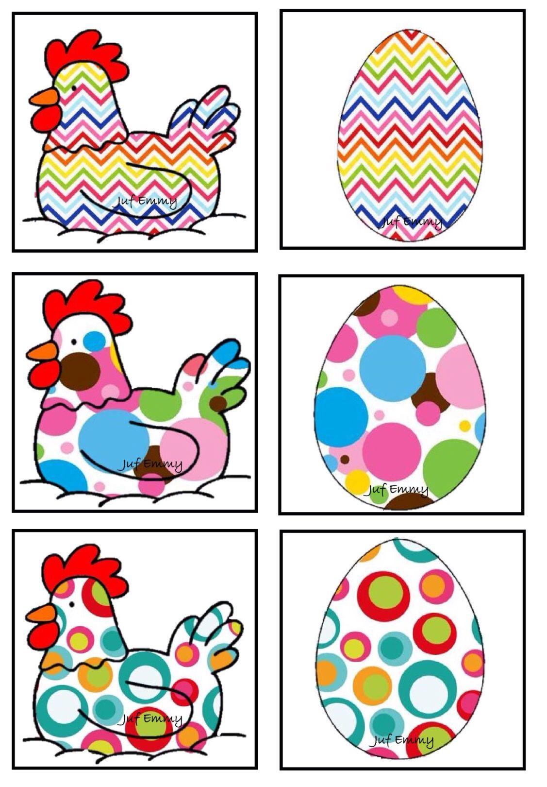 Juf Emmy Memory De Kip En Het Ei Deel 2