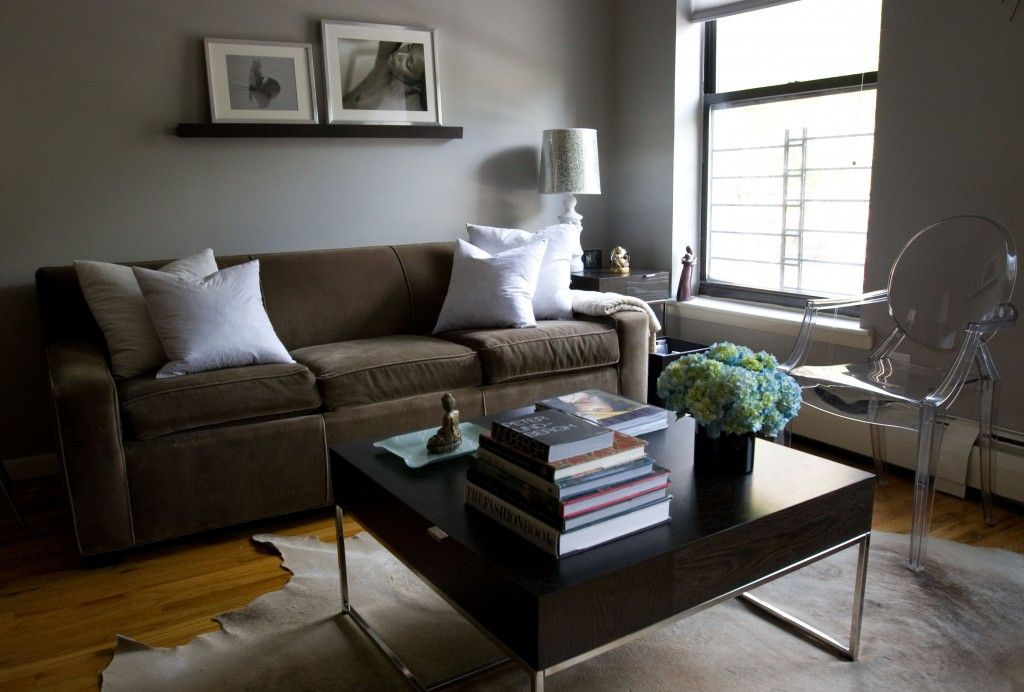 Gray brown walls. 1000 images about surving with brown leather due ...