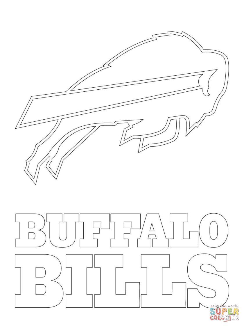 buffalo bills logo  super coloring  birthday