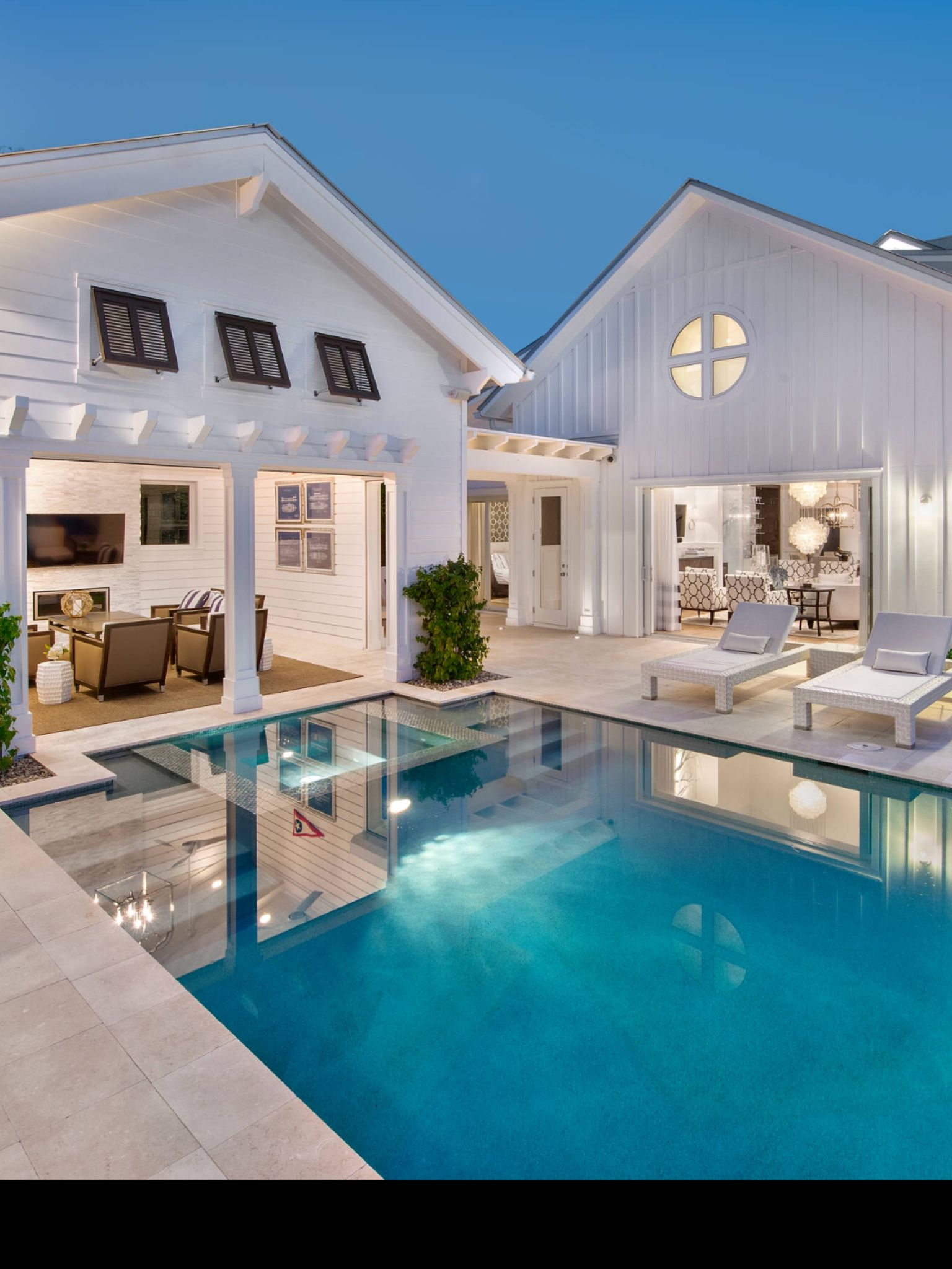 Pool and cabana My Beach House Pinterest Cabana