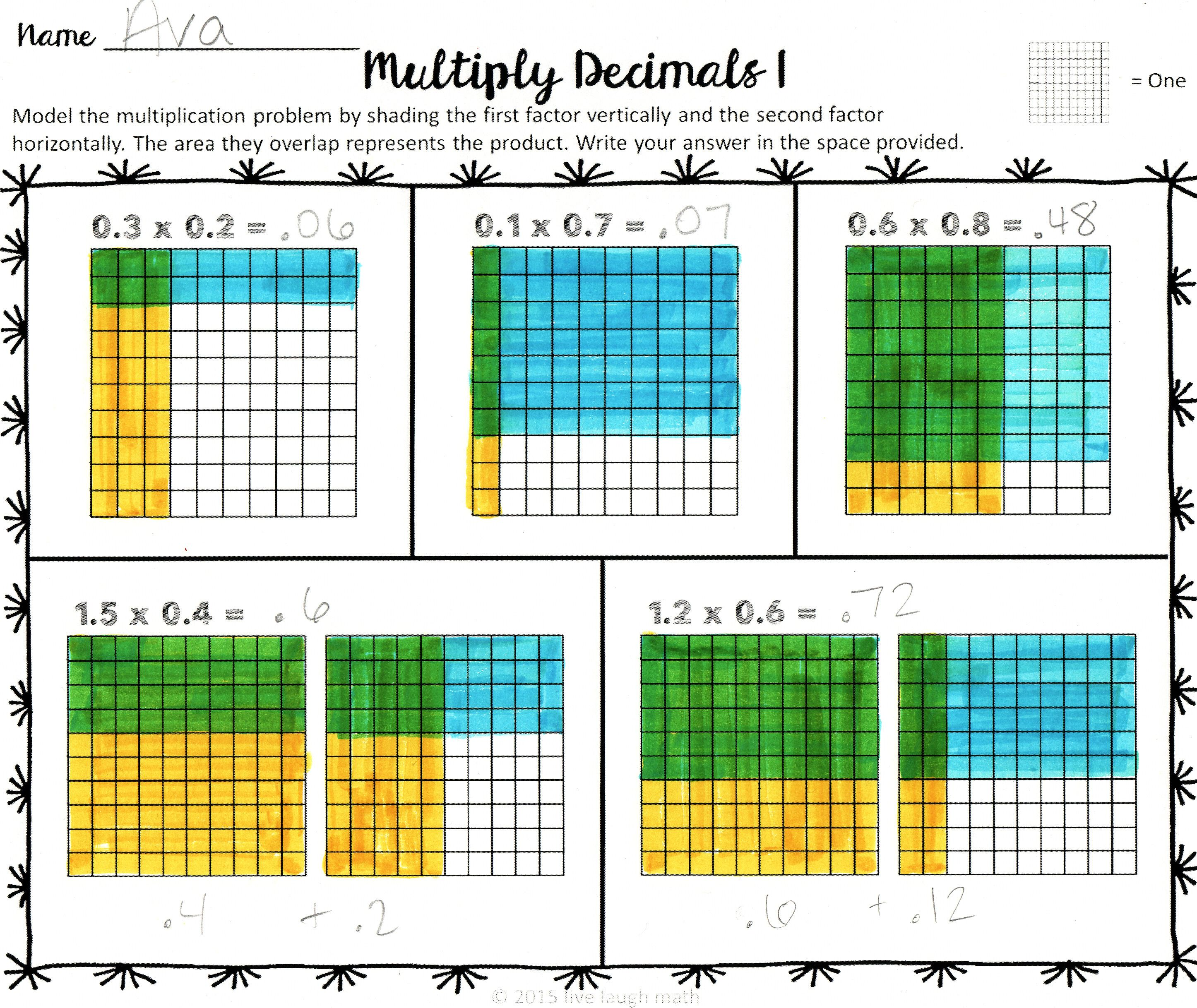 Decimal Operations Modeling