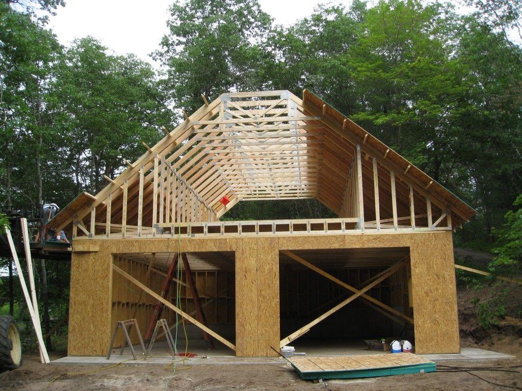 Garage With Loft Blueprints