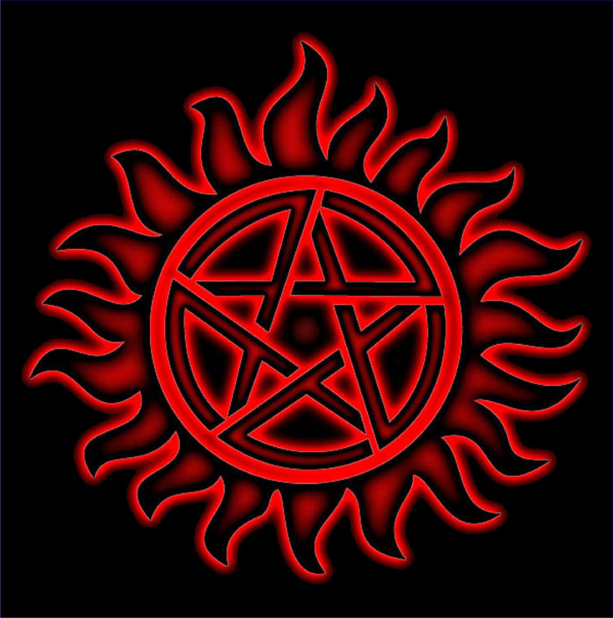 Supernatural AntiPossession Symbol TShirt Supernatural