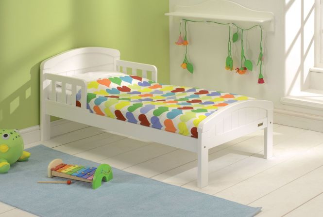 Your Baby Weavers Country Toddler Bed White Reviews From Kiddicare Starter Beds Only