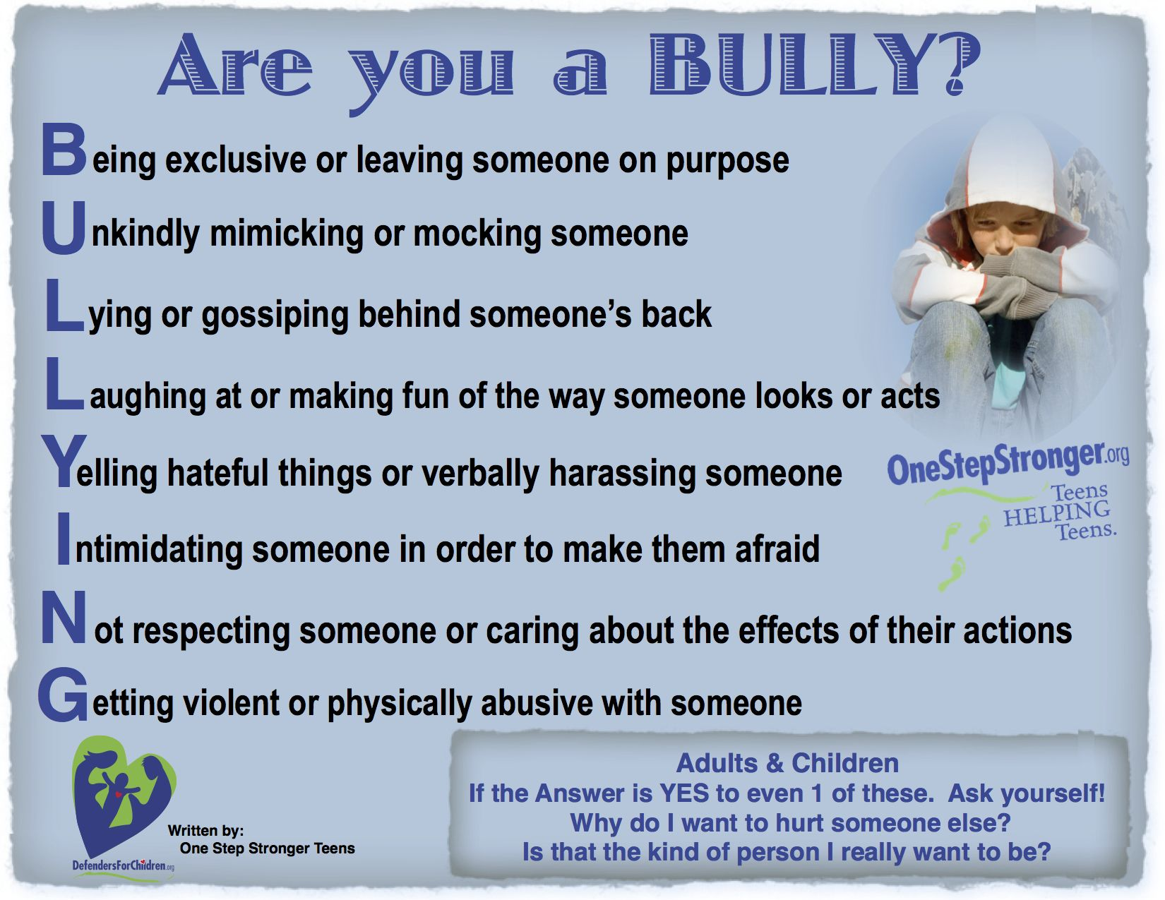 Are You A Bully Do You Know Many Adults Are Bullies Also