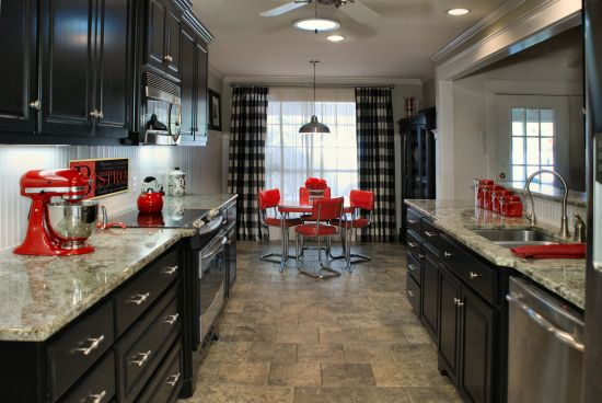 Red Decor Accents On Pinterest Hickory Kitchen Cherry