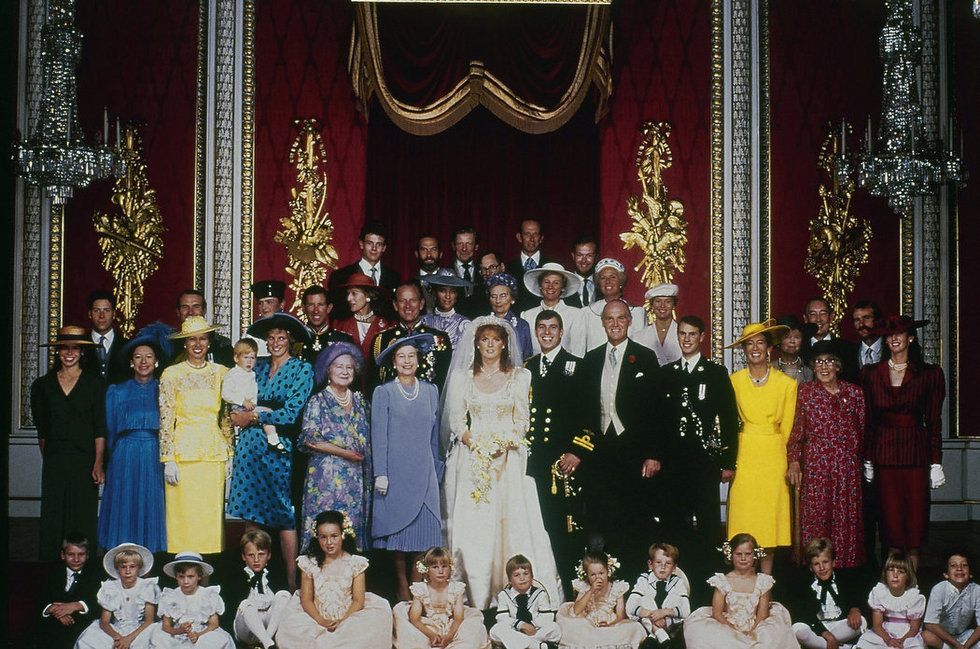 the wedding of prince andrew and sarah ferguson Google