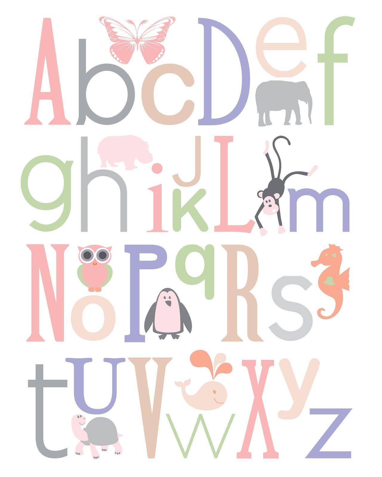 Nursery Letter Print