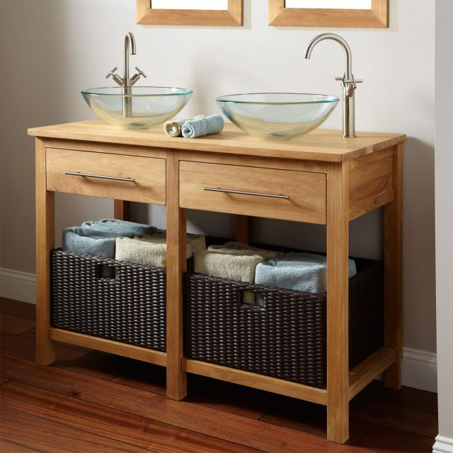 above counter bathroom sink bowls