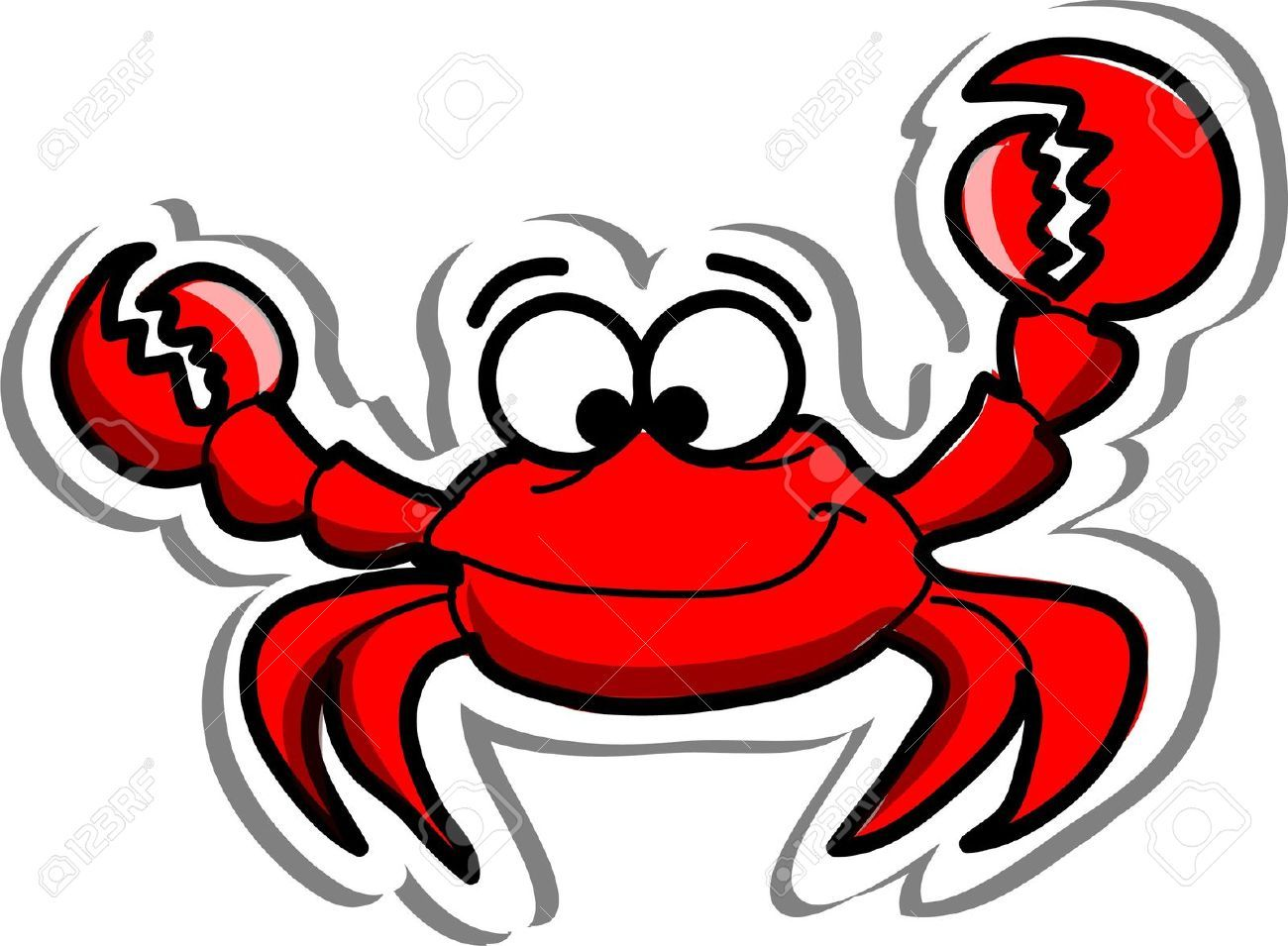 Crabs Stock Illustrations, Cliparts And Royalty Free Crabs